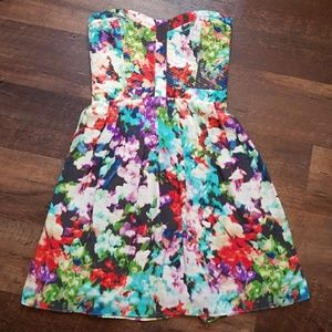 Parker Lily Printed Dress